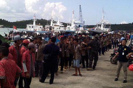 695 Nelayan Vietnam Pencuri Ikan Dipulangkan Melalui Batam