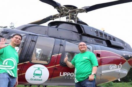 Taksi Helikopter Grab Tarif Terjangkau Mengudara di Ibukota