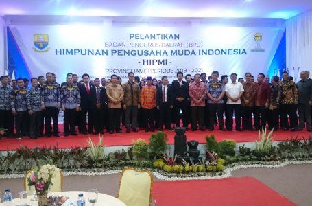 Pengurus BPD Hipmi Jambi Periode 2018-2021 Resmi Dilantik