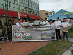Peduli Palu, Sigi dan Donggala, AJO Indonesia DPD Kepri Galang Donasi
