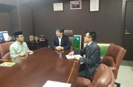 Fachrori Temui Presdir IM di Jepang