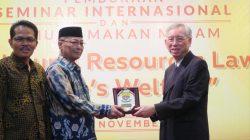 Yazirman Harap Hasil Seminar Internasional Unja Jadi Rujukan Pengelolaan SDA